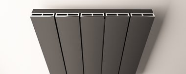 Afdekset radiator 66cm breed Chroom - Rosano Eastbrook