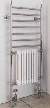 Handdoekhanger radiator staal 144,4x63,cm - Thames Eastbrook