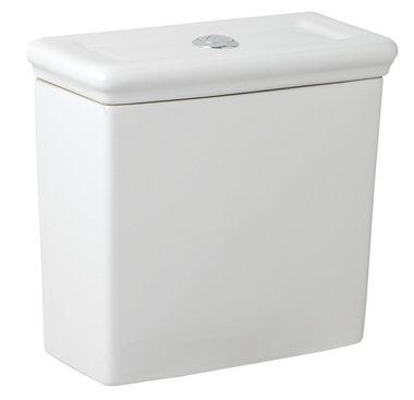 Stortbak toilet incl. fittingen 409x405mm wit - Cheltenham Eastbrook