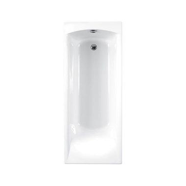 ligbad badkuip inbouw met handgrepen Carronite wit 1400x700mm - Delta Eastbrook