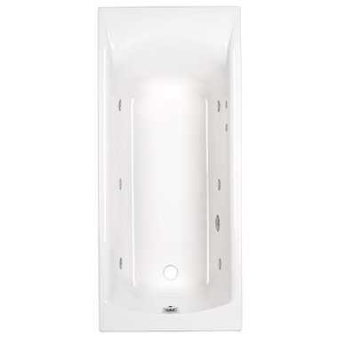 ligbad badkuip inbouw enkelzijdig Carronite wit 1400x700mm - Delta Eastbrook