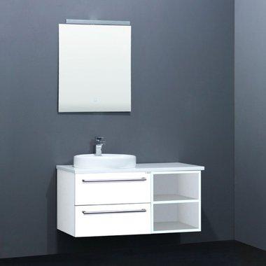 Badkamermeubelset met waskom EAGO Neapel NA-1000 wit 100x47