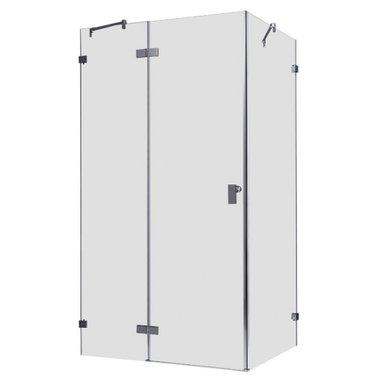 Douchecabine transparant 120x90cm deur links zonder frame - LAS1200 EAGO