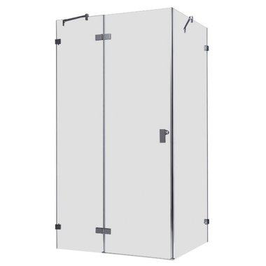Douchecabine transparant 150x90cm deur links zonder frame - LAS1500 EAGO