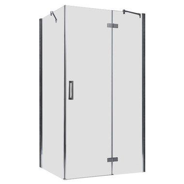 Douchecabine transparant 120x90cm deur rechts met frame - LBS1205 EAGO
