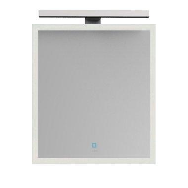 Badkamerspiegel 56x85x1,3cm (lxbxh) incl. ingebouwde LED verlichting en touch sensor  BA-0600J STONEART