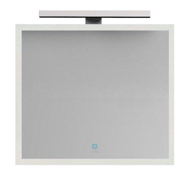 Badkamerspiegel 76x85x1,3cm (lxbxh) incl. ingebouwde LED verlichting en touch sensor  BA-0800J STONEART