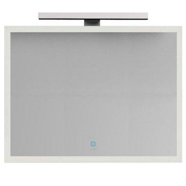 Badkamerspiegel 116x85x1,3cm (lxbxh) incl. ingebouwde LED verlichting en touch sensor  BA-1200J STONEART