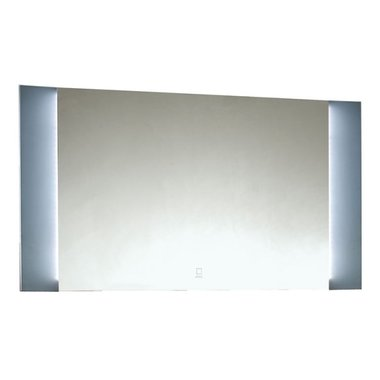 Badkamerspiegel 88x60x3,5cm (lxbxh) incl. ingebouwde LED verlichting en touch sensor  BU-0900J STONEART