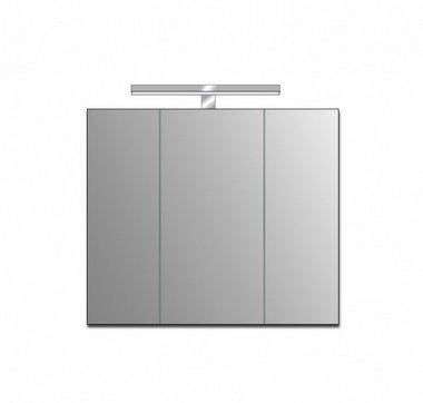 Badkamer spiegelkast 86x72x3,5cm (lxbxh) incl. ingebouwde LED verlichting ME 0900J STONEART