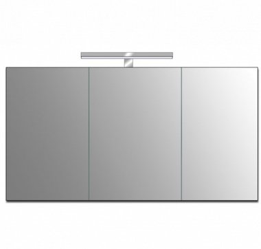 Badkamer spiegelkast 116x72x3,5cm (lxbxh) incl. ingebouwde LED verlichting - ME 1200J STONEART
