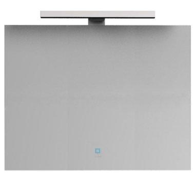 Badkamerspiegel 98x65x3,5cm (lxbxh) incl. ingebouwde LED verlichting en touch sensor  NA-0900J STONEART