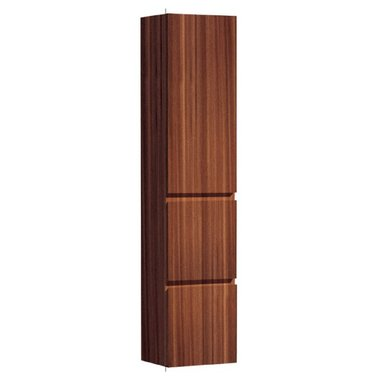Badkamerkast kolomkast 155x36cm teakhout bruin - Brugge BU1550B StoneArt