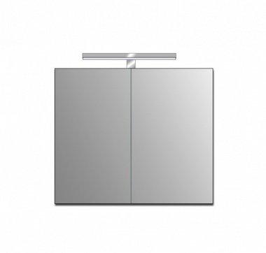 Badkamer spiegelkast 76x72x3,5cm (lxbxh) incl. ingebouwde LED verlichting ME 0800J STONEART