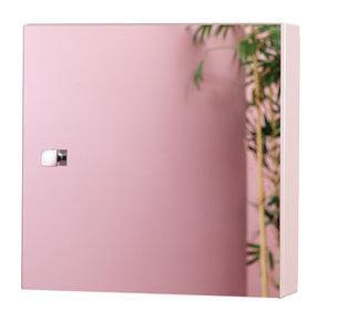 Oslo vierkante spiegelkast 400 x 400mm