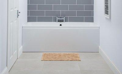 Hoekbad ligbad badkuip duo dubbelzijdig wit 1600x700mm - Profile Eastbrook