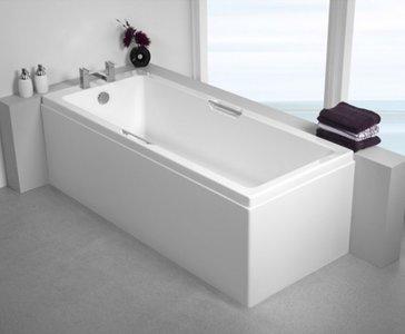 Inbouwbad ligbad badkuip ECO acryl bad wit 1600x700mm - Quantum Eastbrook