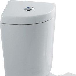 Stortbak toilet incl. fittingen wit - Loire Eastbrook