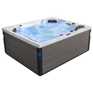 Eago AWT Spa IN-406 Eco Extreme Pro Sterling Silver 225x185 Grijs